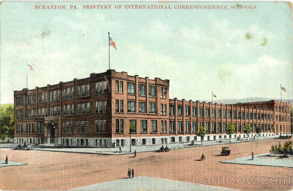 Printery of International Correspondence Schools Scranton Pennsylvania
