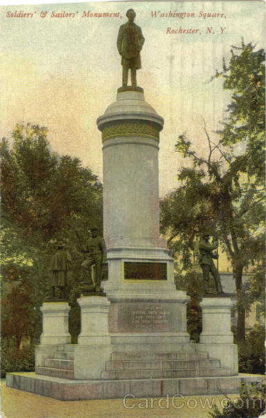 Soldiers & Sailors Monument, Washington Square Rochester New York