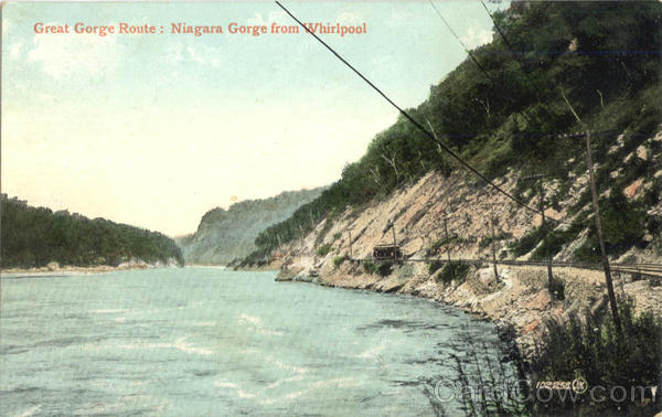 Great Gorge Route: Niagara Gorge from Whirlpool Niagara  Falls Ontario Canada