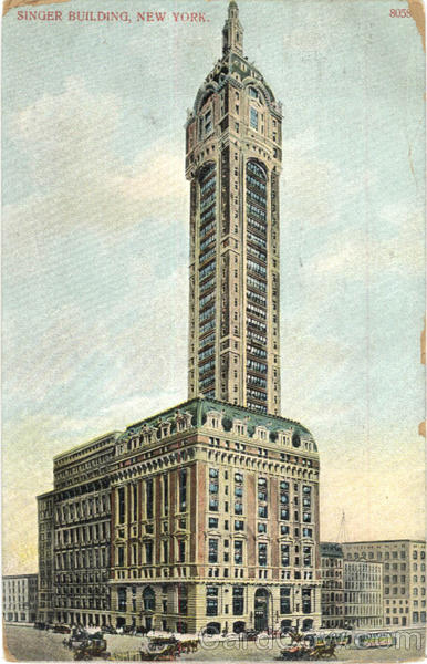 Singer Building New York City