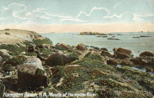 Mouth of Hampton River Hampton Beach New Hampshire