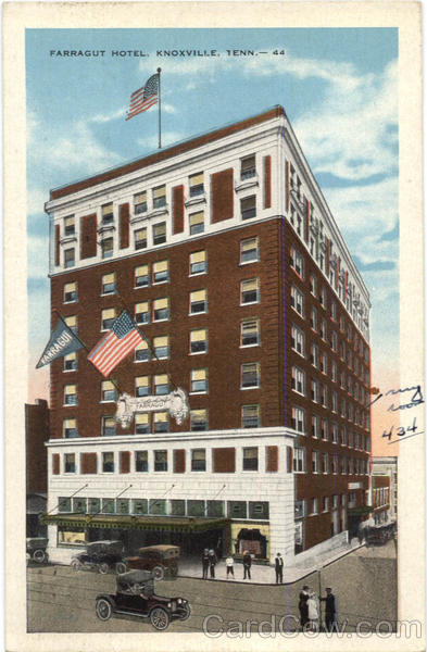 Farragut Hotel Knoxville Tennessee
