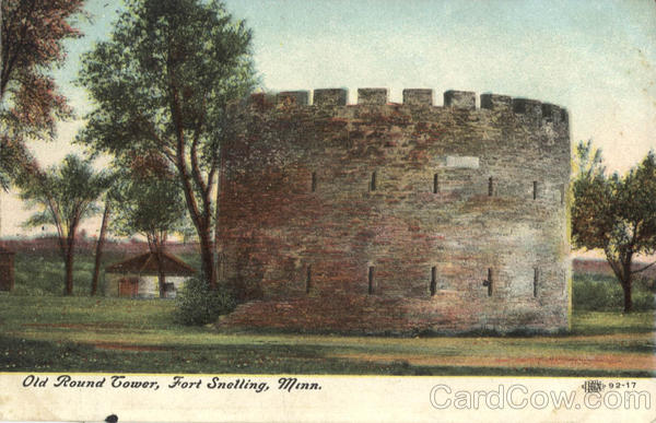 Old Round Tower Fort Snelling Minnesota