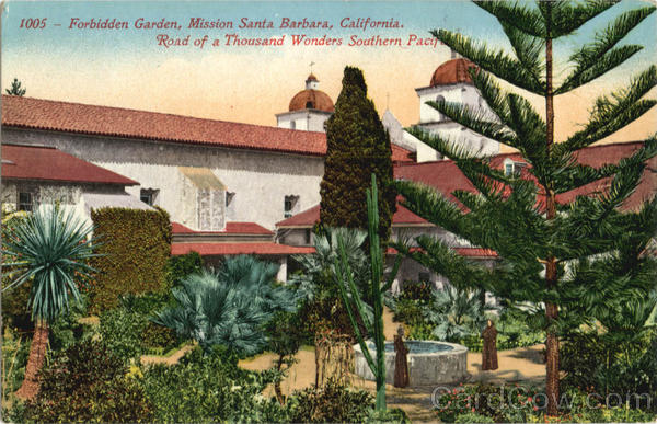 Forbidden Garden Mission Santa Barbara California