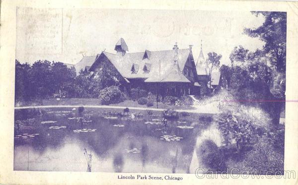 Lincoln Park Scene Chicago Illinois