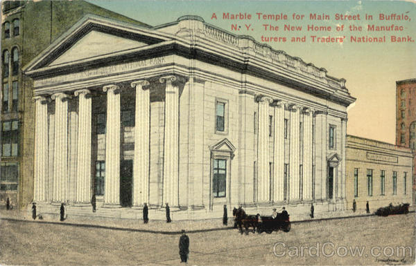 A Marble Temple for Main Street in Buffalo New York City