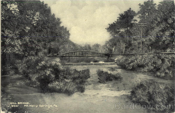 Mill Bridge Mt. Holly Springs Pennsylvania
