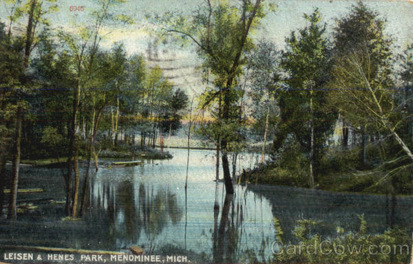 Leisen & Henes Park Menominee Michigan
