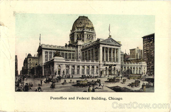 Postoffice and Federal Building Chicago Illinois