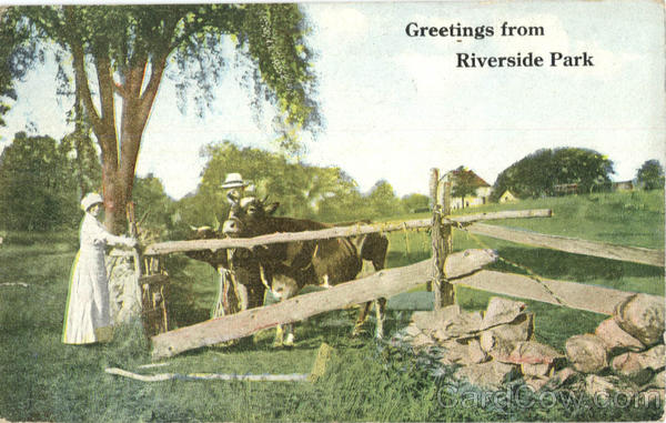 Greeting from Riverside Park Ohio