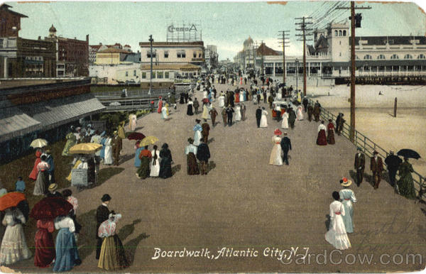 Boardwalk Atlantic City New Jersey