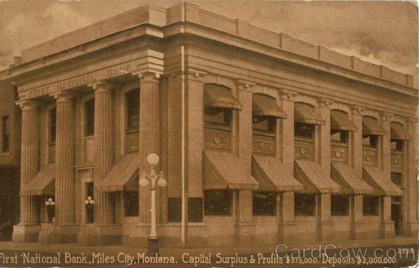 First National Bank Miles City Montana