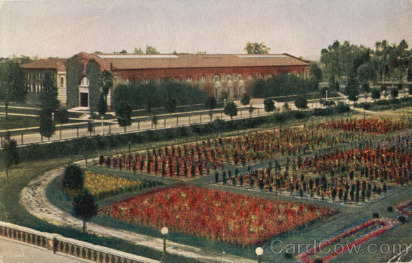 The California State Exposition Building, Exposition Park Los Angeles