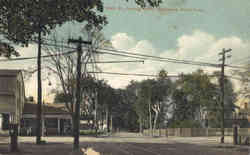 Main St., Looking North Postcard