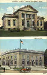 Carnegie Conklin Library, Post Office multi view
