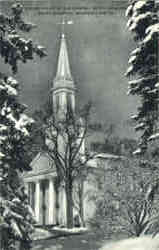 Helen Hills, Hills Chapel, Smith College