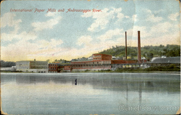 International Paper Mills And Androscoggin River Maine