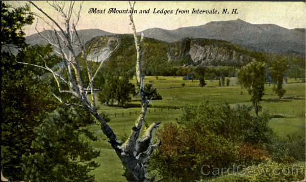 Moat Mountain And Ledges From Intervale New Hampshire