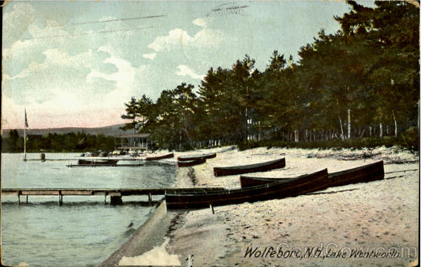 Lake Wentworth Wolfeboro New Hampshire