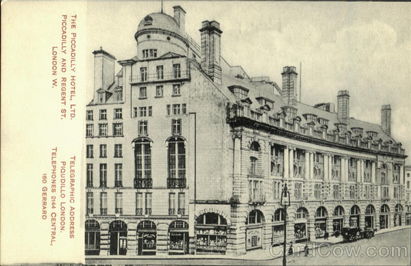 The Piccadilly Hotel Ltd London England