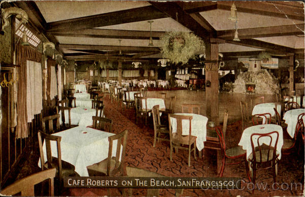 Café Roberts On The Beach San Francisco California