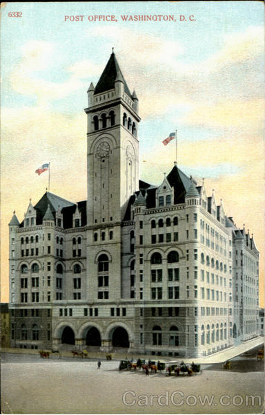 Post Office Building (now Trump International Hotel) Washington District of Columbia