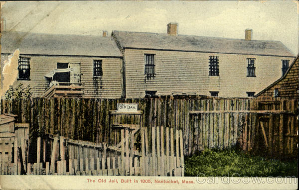 The Old Jail Nantucket Massachusetts