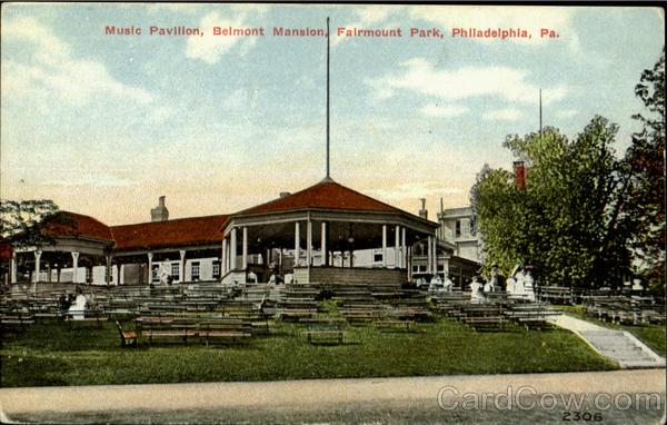 Music Pavilion Belmont Mansion Fairmount Park