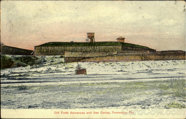 Old Forts Barrancas And San Carlos Pensacola Florida
