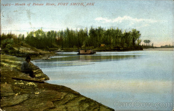Mouth Of Poteaw River Fort Smith Arkansas