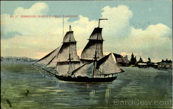 Commodore Perry's Flagship Lawrende Boats, Ships