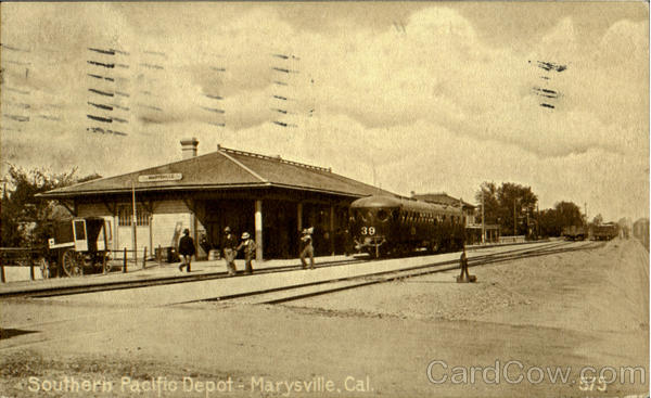 Southern Pacific Depot Marysville California