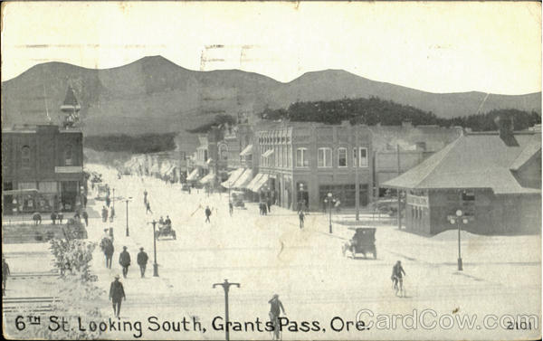 6Th St. Looking South Grants Pass Oregon