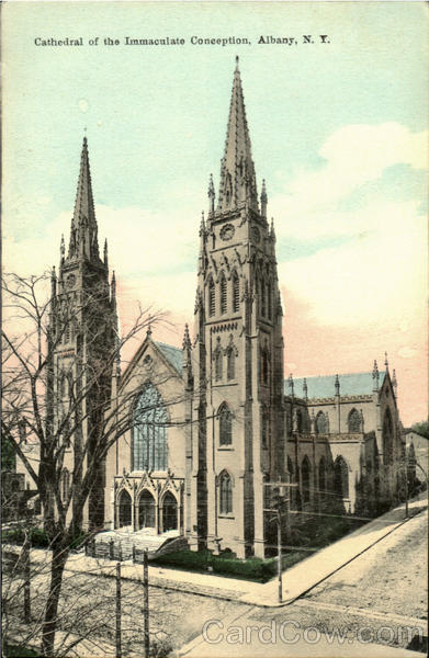 Cathedral Of The Immaculate Conception Albany New York