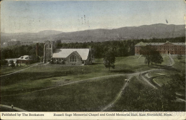 Russell Sage Memorial Chapel And Gould Memorial Hall East Northfield Massachusetts