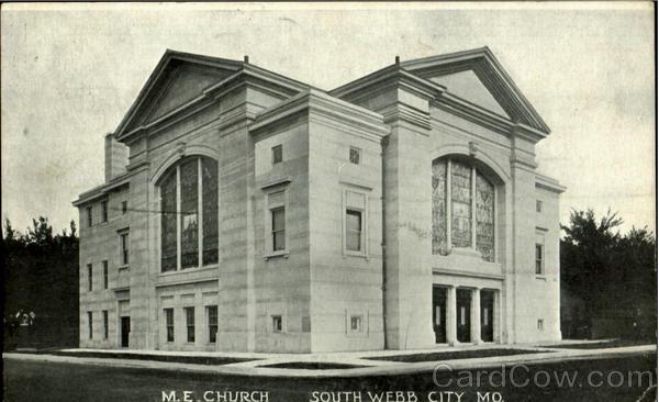 M. E. Church Webb City Missouri