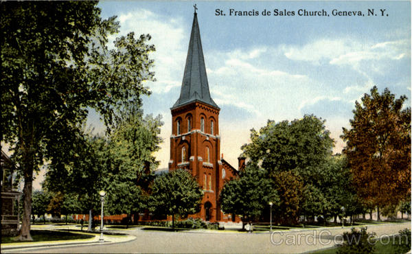 St. Francis De Sales Church Geneva New York