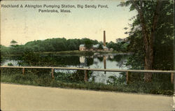 Rockland & Abington Pumping Station, Big Sandy Pond