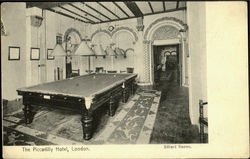 The Piccadilly Hotel Billiard Rooms