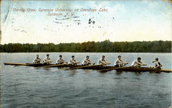 Varsity Crew On Onondaga Lake, Syracuse University