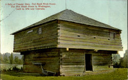 Fort Borst Block House