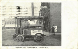 Canton's First Street Car