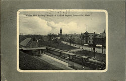 Winter Hill Railway Station & Cilman Square