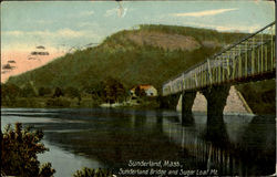 Sunderland Bridge And Sugar Loaf Mt
