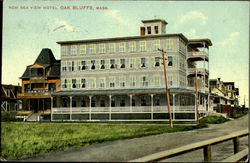 New Sea View Hotel Postcard