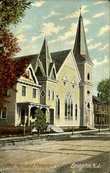 First Methodist Protestant Church Postcard