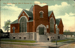 First Baptist Church, Mill & Shawnee Sts.