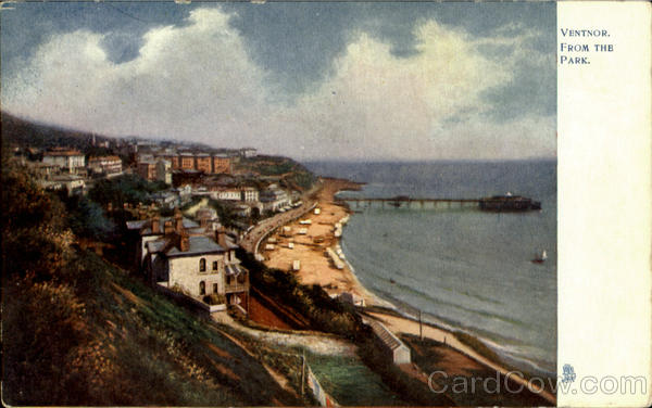 Ventnor From The Park England