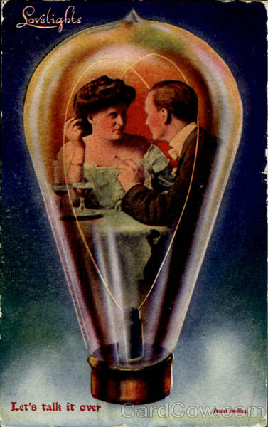 Lovelights - Vintage Light Bulp Romance & Love