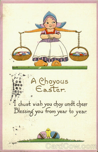 A Choyous Easter Dutch Children